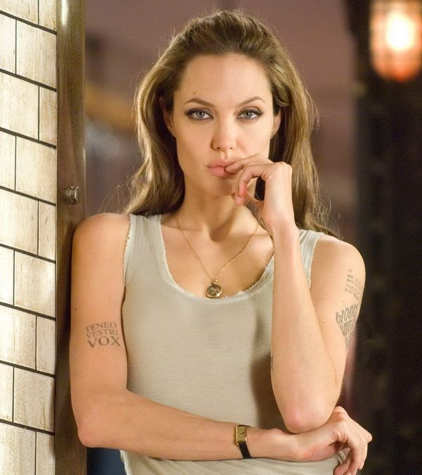 angelina jolie tattoo wanted movie 2 http://hative.com/amazing-angelina-jolie-tattoos-pictures/