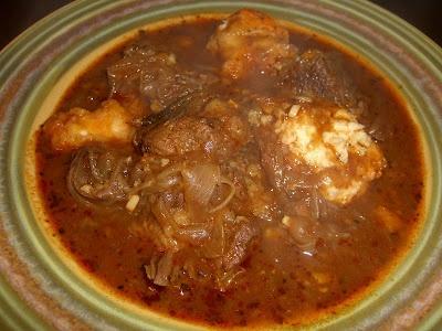 Beef Goulash with Dumplings | Soups/Salads | Pinterest | Beef Goulash ...