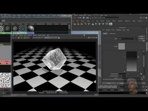 This video is a Maya tutorial on a StandardShader - Ice Cube. I have never made Ice and so I thing that this can help give me a rough idea where to start.