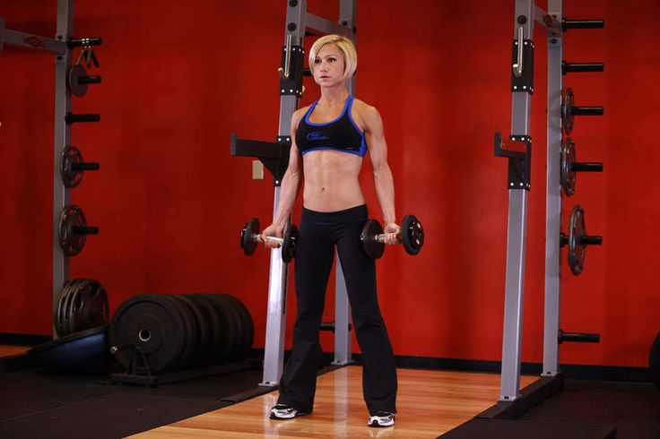 Dumbbell Bicep Curl 3x15
