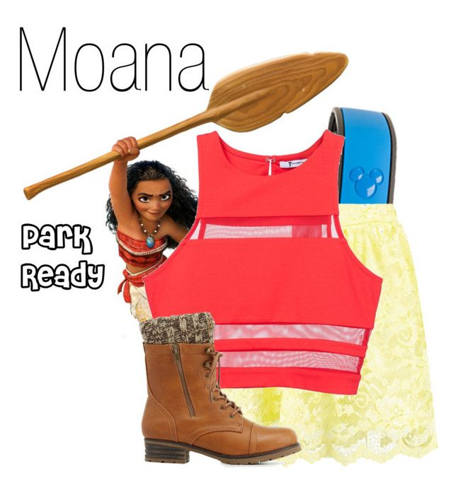 Moana DisneyBound By Basic Disney Liked On Polyvore Featuring OutfitsDisneyboundMoanaCasual