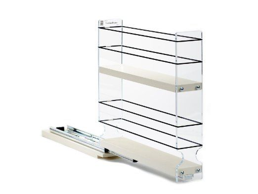 Amazon.com: Vertical Spice - 2x2x11 DC - Spice Rack Narrow Space - 12 Capacity - Drawer Access: Spice Racks For Cabinets: Kitchen & Dining