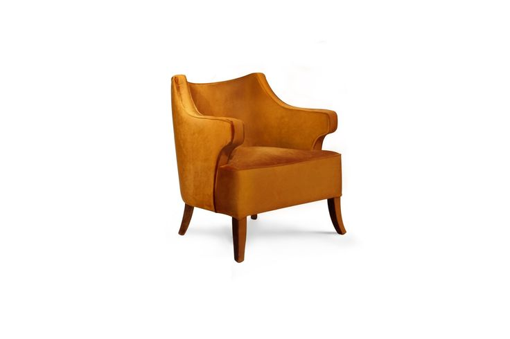 JAVA Armchair | Modern Chairs | Velvet Chair | Chair Design | #modernchairs | #livingroomchairs | #armchairs | Find more at: http://brabbu.com/category/upholstery
