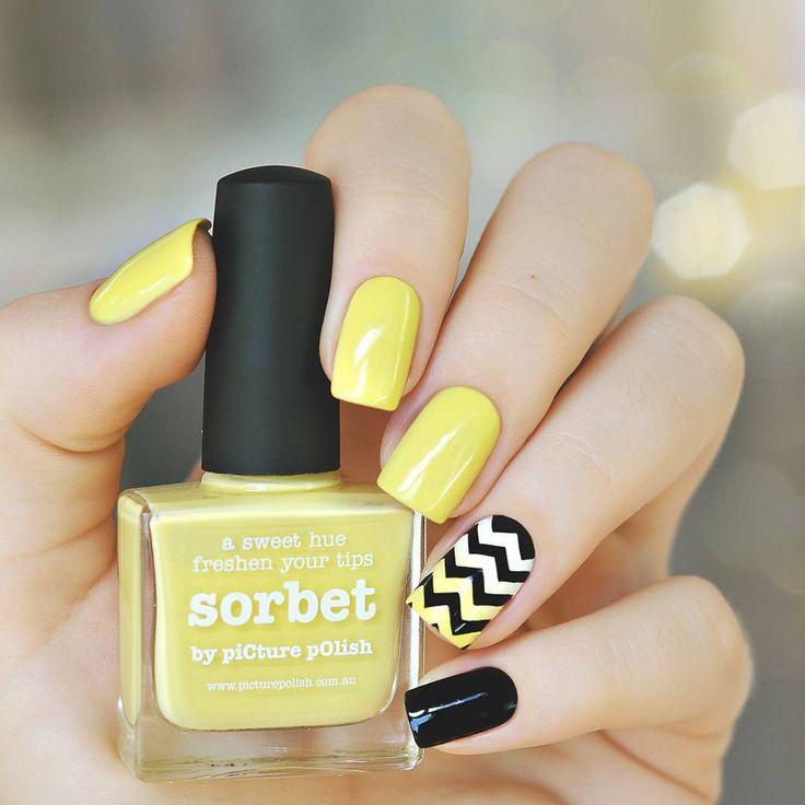 Unha amarela