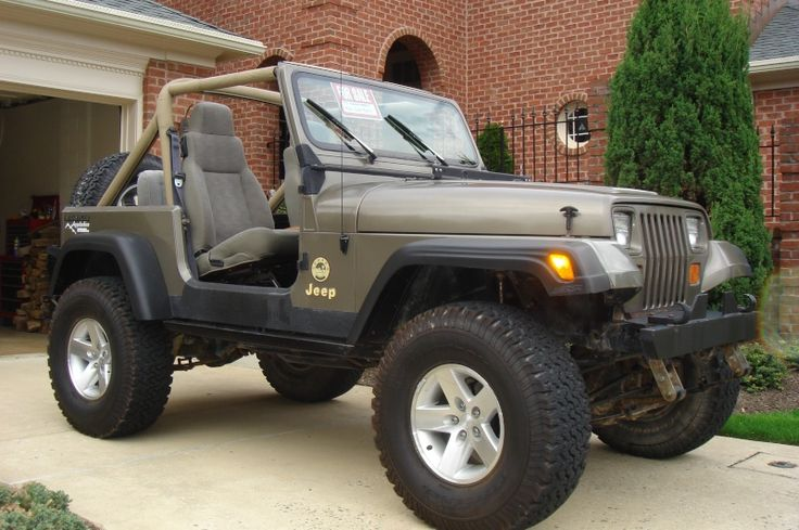 1990 jeep yj sahara oiiiiio it 39 s a jeep thing. Black Bedroom Furniture Sets. Home Design Ideas