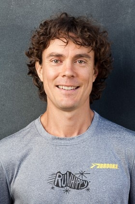 Ultra marathon runner Scott Jurel, author of Eat and Run, and featured in Born to Run