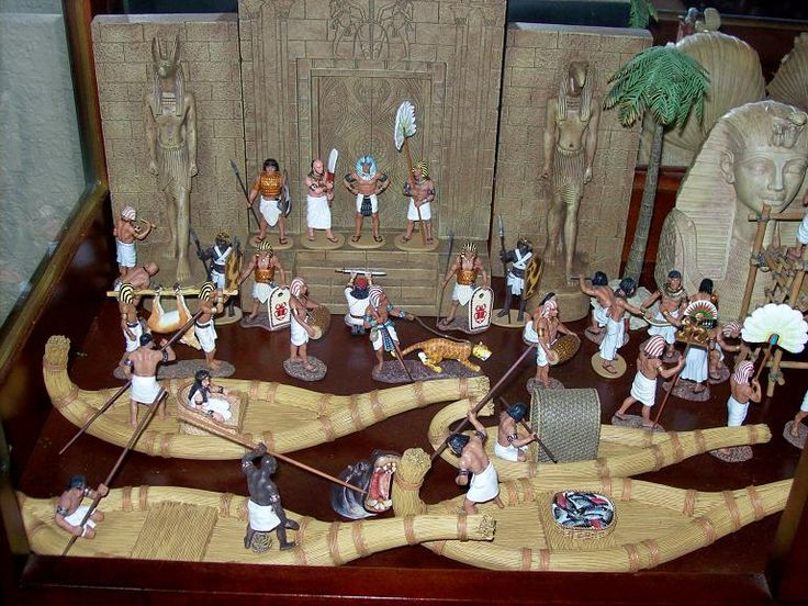 Ancient Egypt Diorama by Michael Miller
