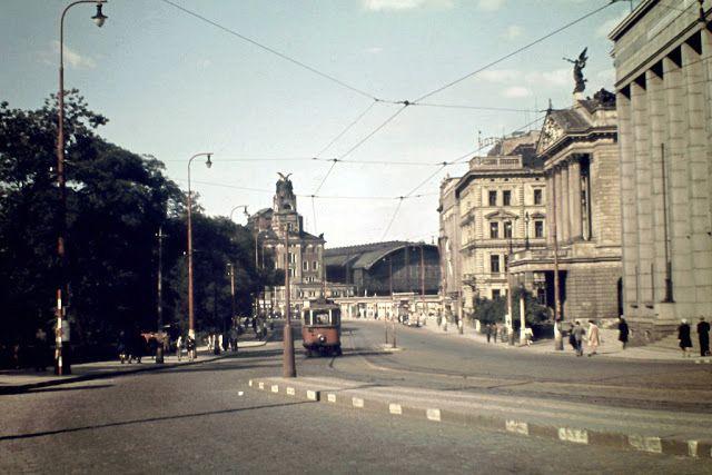 Jak vypadalo hlavní město Československa v roce 1946?