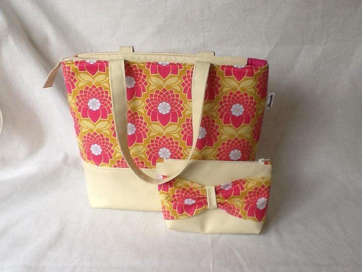 set of bag and cosmetic bag