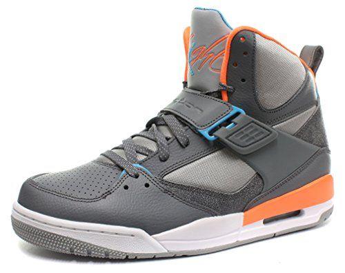 Nike Air Jordan Flight 45 High Homme Basketball Chaussures, Gris, 43  #Nike #Chaussures #Sneakers #AirJordan #Jordan #JordanFlight