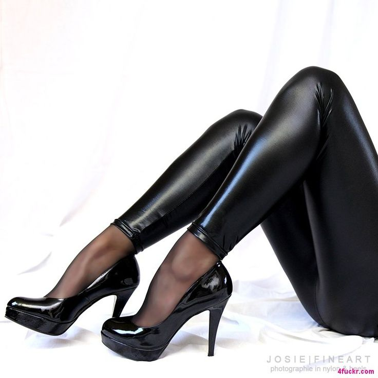 Black shiny pantyhose congratulate, you
