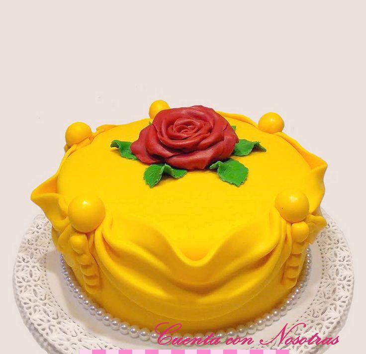 Torta Bella y la Bestia Beast and Beauty Cake
