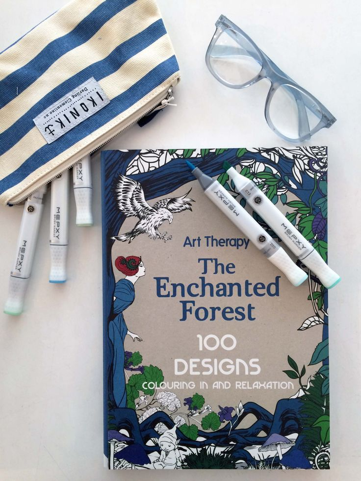 Colouring in isn't just for kids // Part 2 // Art Therapy: The Enchanted Forest // Available in store and online