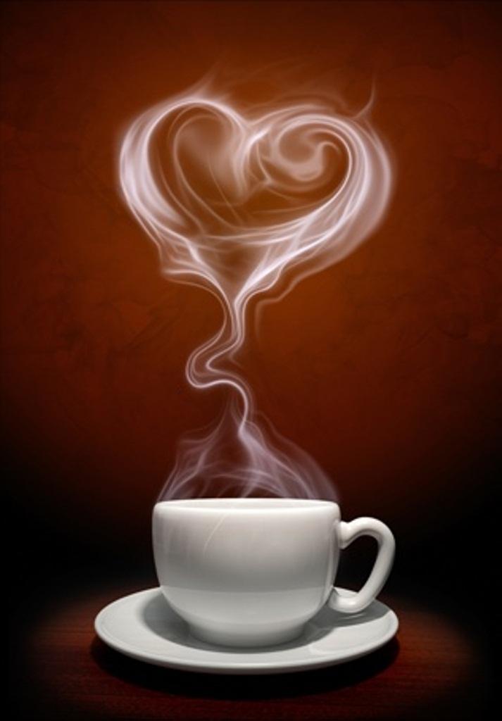 ☕ Coffee heart steam ☕