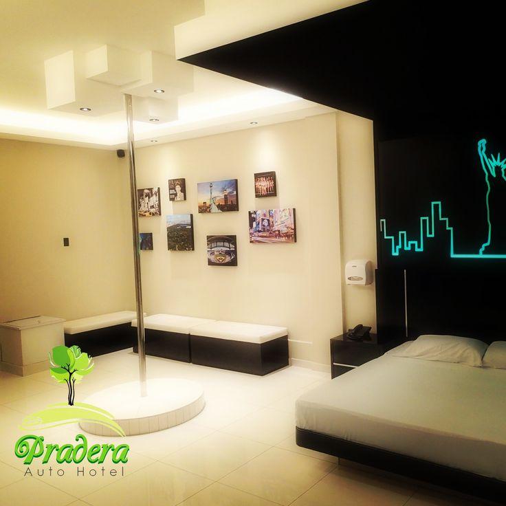 New York Suite en PraderaAuto Hotel. San Salvador, El Salvador.
