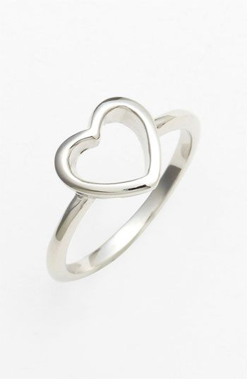 Heart ring - $18