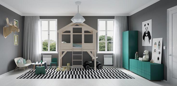 Воодушевление Современные спальни для детей: Красочный, Quirky, и весело