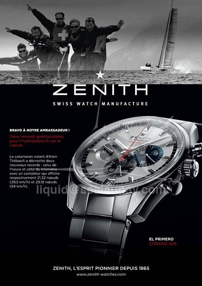 Zenith by Christophe Launay
