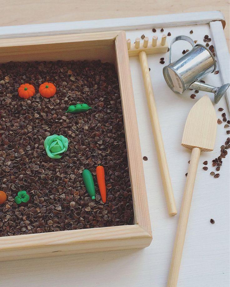Купить Сенсорный огород - сенсорный огород, сенсорные игры, сенсорная игрушка, тактильные игры