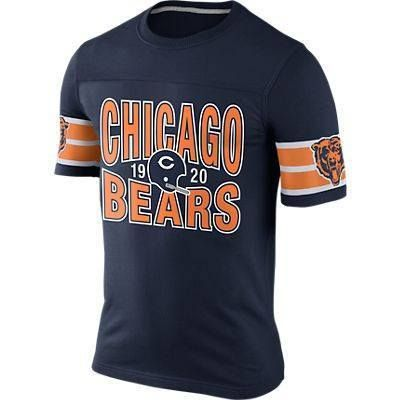 CHICAGO BEARS NIKE REWIND FOOTBALL TOP