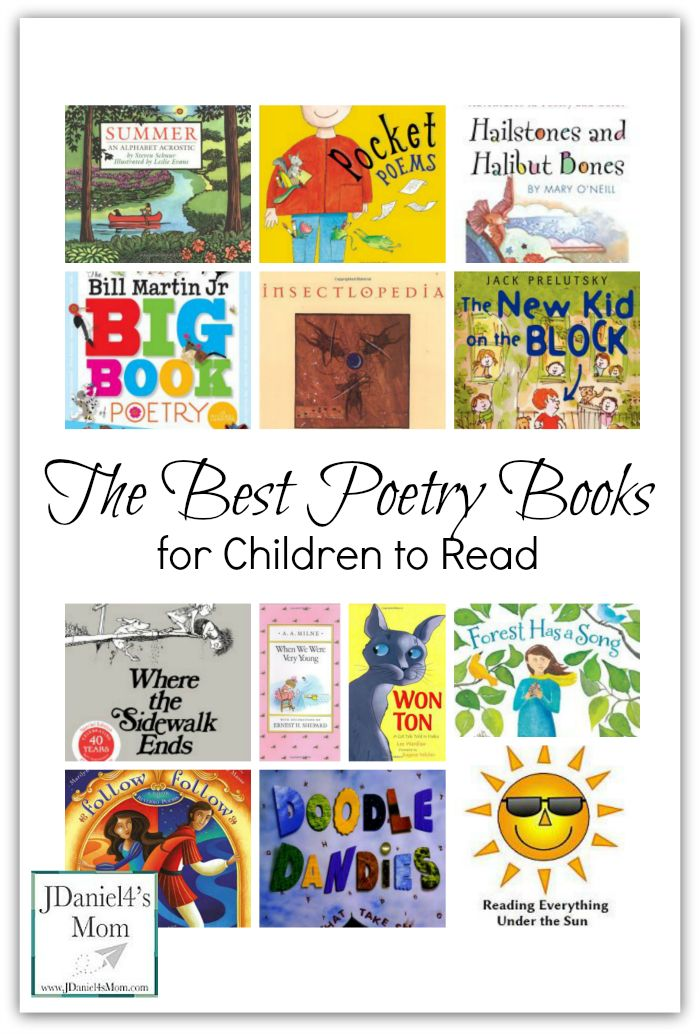 The Best Poetry Books for Children to Read
