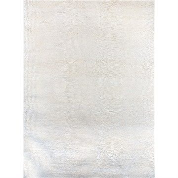 Eclipse Wool Rug NZ Felted Wool Rug in White - 155x255cm