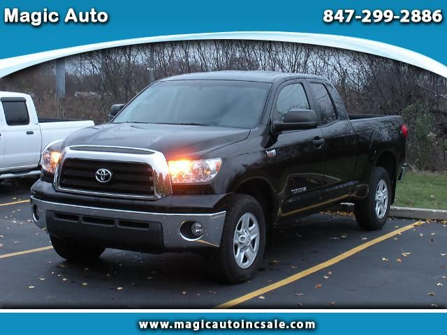 Used 2009 Toyota Tundra SR5 5.7L FFV Double Cab 4WD for Sale in Chicago IL 60016 Magic Auto