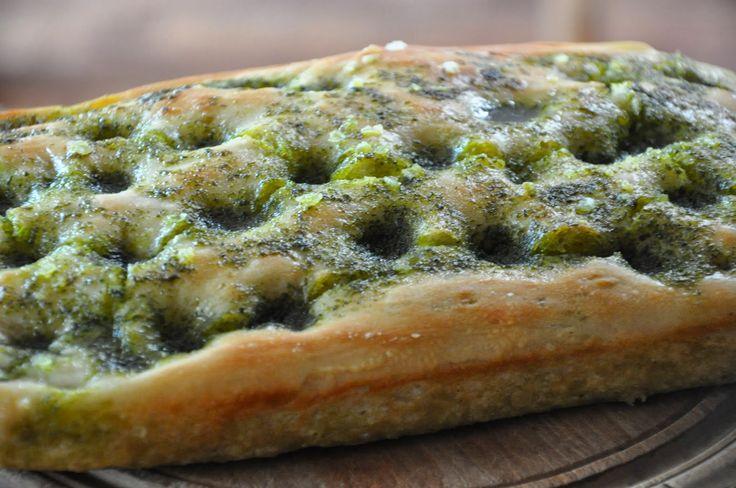 Bradshaw & Sons: Wild garlic focaccia