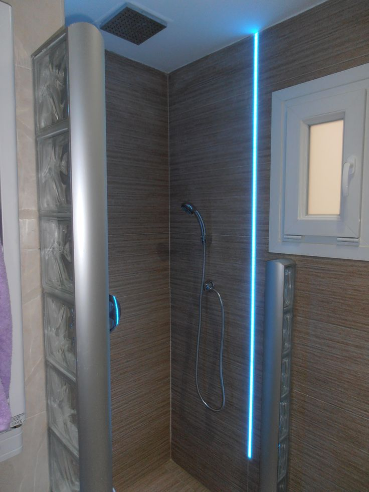 17 best images about proyectos realizados on pinterest for Led para ducha