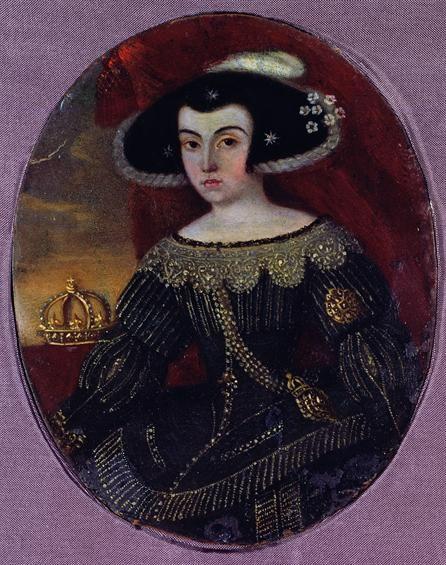 Queen of Portugal, D. Luísa de Gusmão c. 1640 - 1666, Museu Nacional de Arte Antiga
