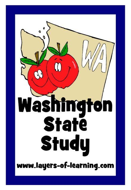 Washington State Printable Map