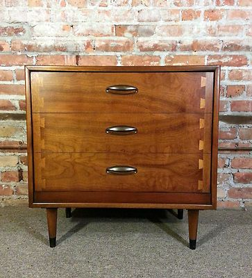 Lane Acclaim Style Record Cabinet Eames MCM Mid Century Modern Danish