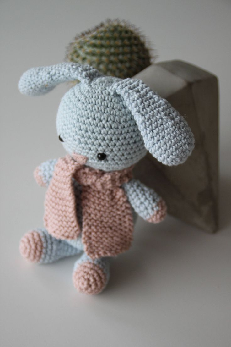 Excited to share the latest addition to my #etsy shop: Missy the rabbit http://etsy.me/2DGjM0h #toys #blue #babyshower #christmas #pink #aidasofieknits #crochetrabbit #amigurumirabbit #rabbittoy