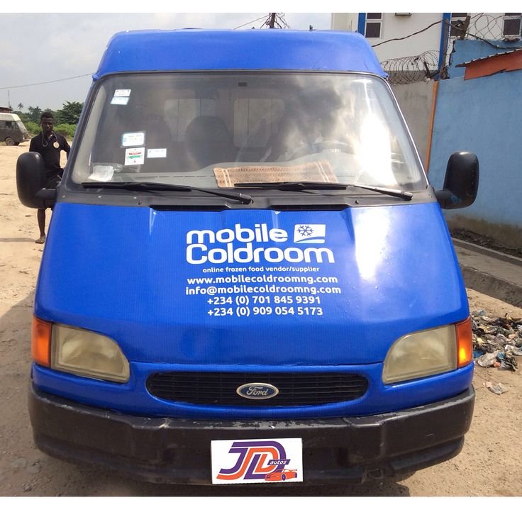 Yes! We Do Vehicle Branding Too.  HD Bus Branding For The Very Efficient Online Frozen Food Vendor - @MobileColdRoomng  At JD Autos; We Do:  Mechanical Repairs  Auto Key Replacement Body Work and Oven Bake Spray Jobs  Rear View/Reverse Cam  Interior Upgrade  Puddle Lights  DVD Players  Tail Light Wrapping  Pimped Rims  HID Headlights  Sound System Repair & Upgrade  AC Repair & so much more.  For Enquiries - Send A DM Call or Visit Us Today.  #JDAutos #Believe #JDAutosCenter #RangeRover…