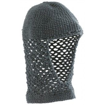 Knight chainmail hood for children in 100% cotton - Ridder maliën kap voor kinderen- Camail de chevalier pour enfants
