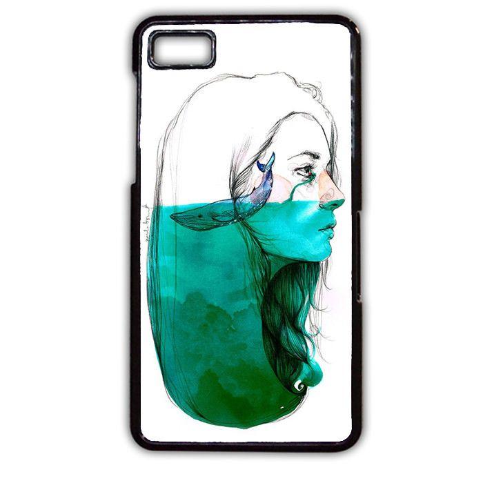 Whale Inside Mind TATUM-11877 Blackberry Phonecase Cover For Blackberry Q10, Blackberry Z10