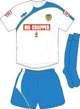 Burton Albion away kit for 2010-11.
