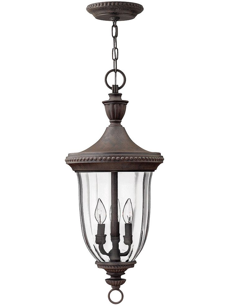 Porch Light Fixtures. Oxford Hanging Entry Light in Midnight Bronze