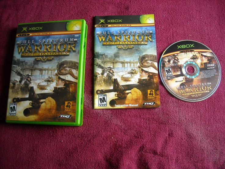 Full Spectrum Warrior: Ten Hammers (Microsoft Xbox, 2006) Rated M - for sale at Wenzel Thrifty Nickel ecrater store