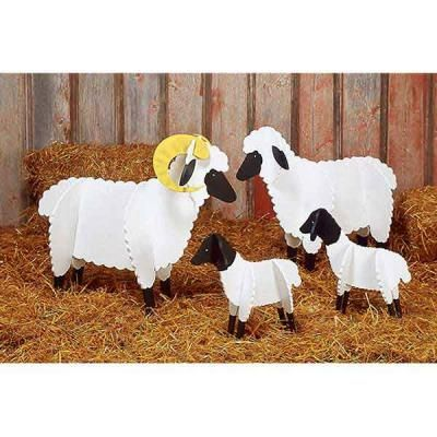 cardboard sheep template - sheep paper plan creche 39 festival pinterest ps