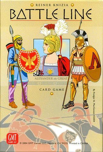 Battle Line / boardgamegeek / board game / card game / Reiner Knizia