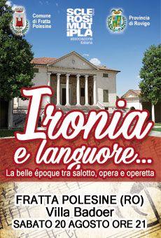 Ironia e languore... - La belle époque tra salotto, opera e operetta. Tutti i…