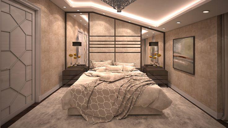 Master Bedroom 1 By Fadi Wardeh. 3D Max.