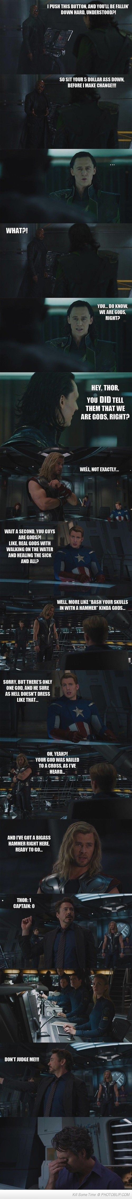 This Is What The Avengers Movie Should Have Said...