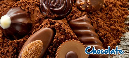 Find out our chocolate brands and enjoy them all!!