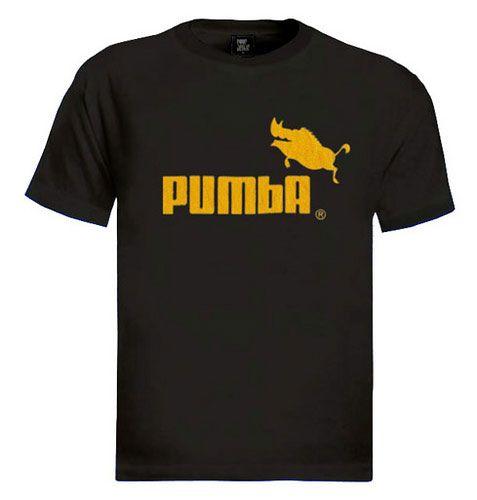 cute :) T-Shirt, Workout Shirts,  Tees Shirts, Things, Pumas Tshirt Pumba Lion K