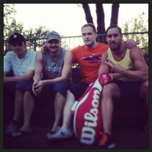 5th best squash team in Europe. Tatu Knuutila, Mika Monto, Arttu Moisio and me.