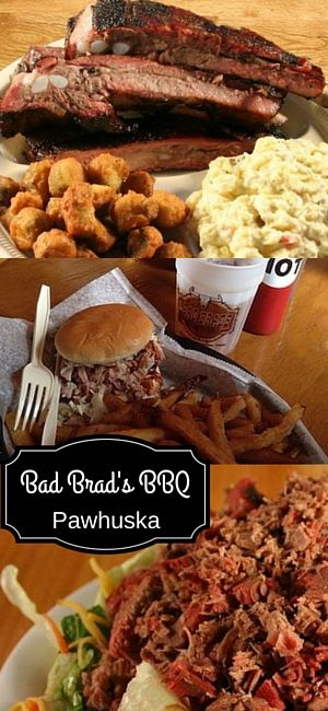 Take a look at that 'cue! Head to Bad Brads Bbq in Pawhuska to get your hands on some of this finger-lickin'-good barbecue! The ribs and brisket are a local favorite, but you can't go wrong with whatever you order! Pick your meat and the perfect sides to go along with it for a meal you won't soon forget!