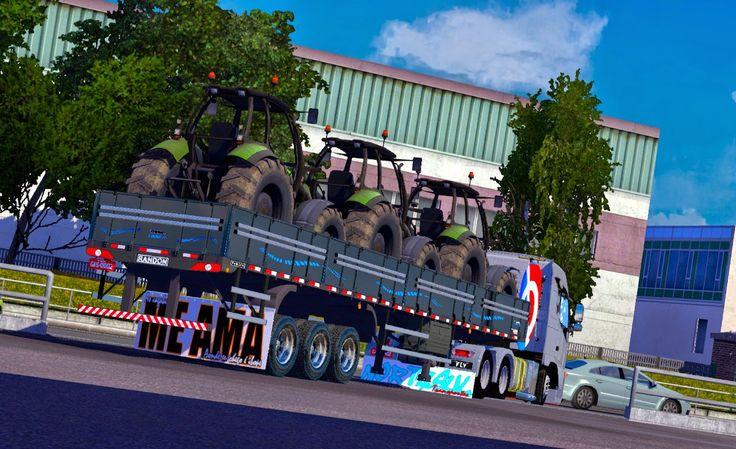 Reboque - Carreta Randon Linha Para V.1.16.X By: Fly   Blog Euro Truck 2