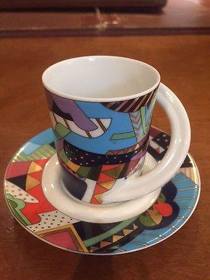 Rosenthal Studio Line Cupola B. Doege #4 Espresso Cup & Saucer Set | eBay